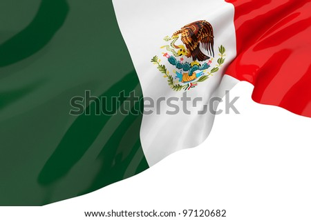 Vector Flags of Mexico