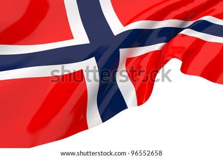 Vector Flags of Norway