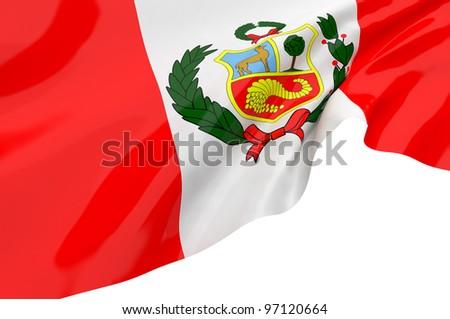 Vector Flags of Peru