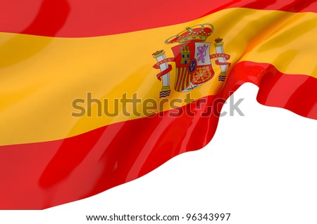 Vector Flags of Spain