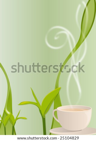 http://image.shutterstock.com/display_pic_with_logo/74205/74205,1234837995,279/stock-photo-vector-illustration-of-a-hot-smoking-tea-cup-with-tea-leaves-background-25104829.jpg