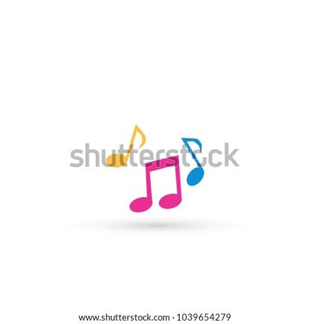 Vector music Icon.