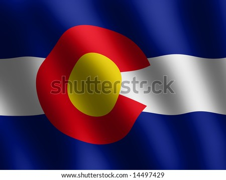 Colorado Logo Wallpaper Vector Waving Flag of Colorado