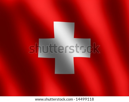 waving Flag Switzerland,