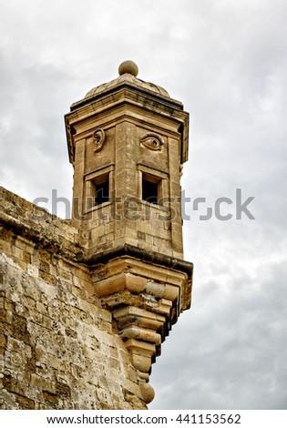 Vedette watchtower, Malta Stock fotó ©