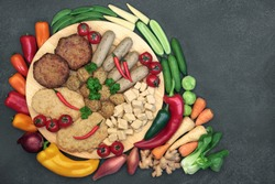 Vegan health food for ethical eating with quorn meat substitute selection high in protein and fruit & vegetables. High in protein, vitamins, minerals, antioxidants, fibre, omega 3 & smart carbs.