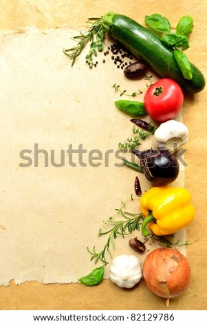 vegetable and herb