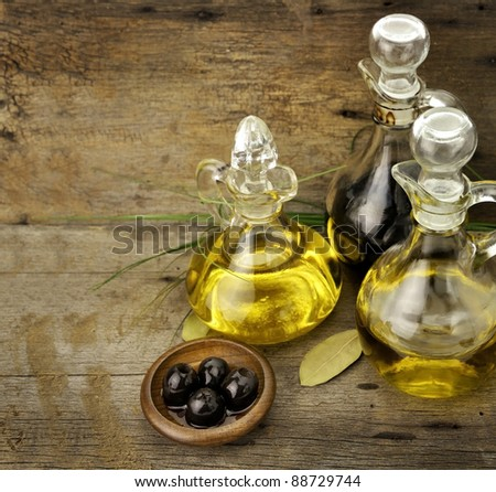 Vegetable And Olive Oil With Balsamic Vinegar