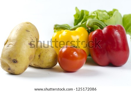 Vegetable arrangement