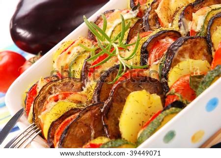 ... Zucchini,Tomato,Potato And Cheese Stock Photo 39449071 : Shutterstock