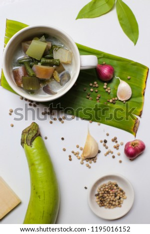 Vegetable Lodeh - Indonesian Food ( Portrait )