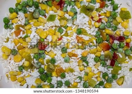 vegetable mix with rice Сток-фото ©