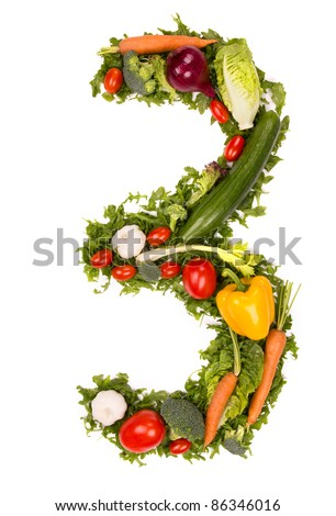 Vegetable number \
