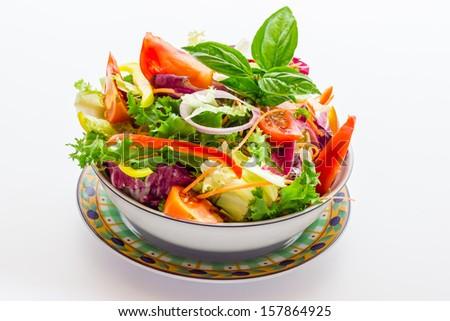 Vegetable salad #157864925