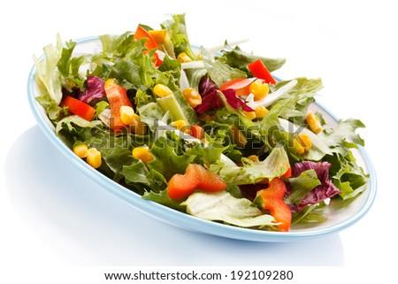 Vegetable salad #192109280