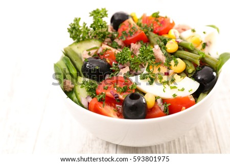 vegetable salad #593801975
