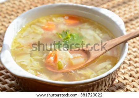 vegetable soup #381723022
