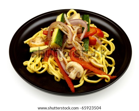Vegetable Stir Fry with Noodles