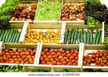 Vegetables\' assortment / Fresh Vegetables for sale