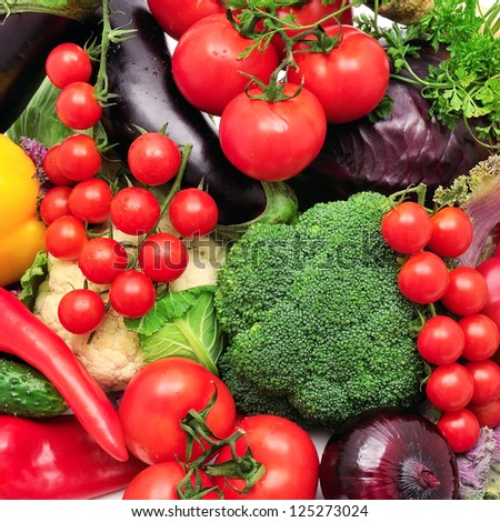 vegetables background