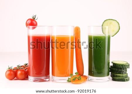 vegetables cocktail, drinks