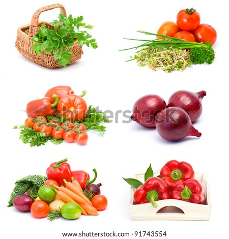 vegetables collections