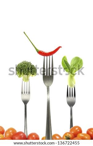 Vegetables for diet