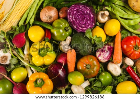 vegetables fresh food