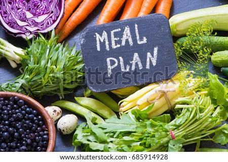 Vegetables/meal plan