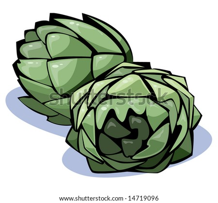 Vegetables series: artichokes