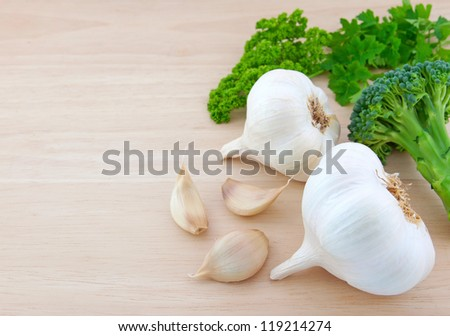 Vegetables theme