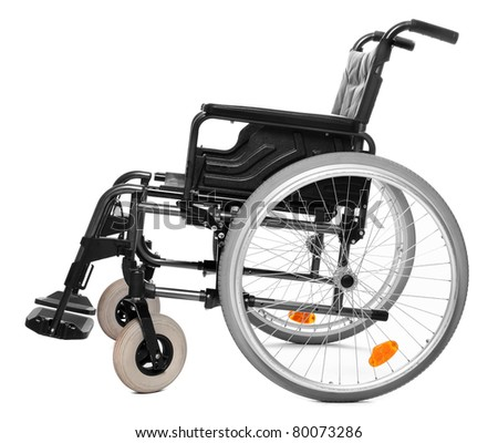 Vehicle for handicapped persons - invalid chair.