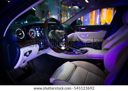 Stock Photo vehicle interior