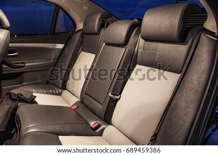 Vehicle interior #689459386