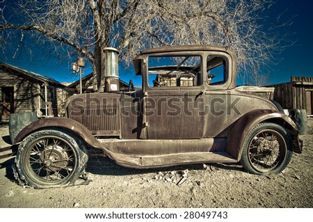 Vehicle retired and abandoned