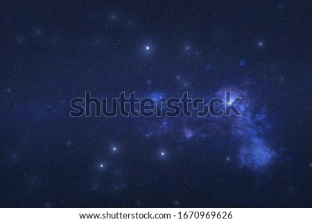 Vela Constellation in outer space. Sails constellation stars on the night sky. Elements of this image were furnished by NASA Foto stock ©