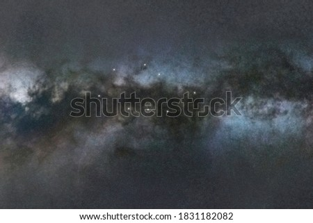 Vela star constellation, Night sky, Cluster of stars, Deep space, Sailsconstellation Foto stock ©