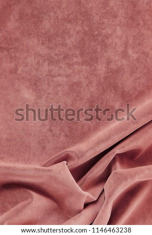 velvet texture pastel pink colors, background, expensive luxury, fabric, material, needlework, sewing, wallpaper, cloth.copy space Foto stock ©