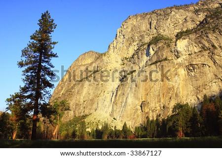 Velvia: Yosemite National Park California USA