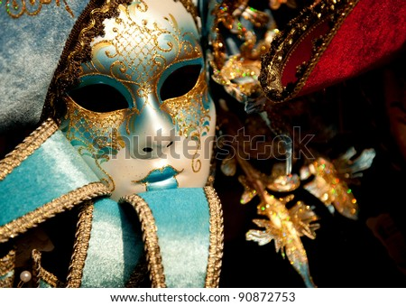 Venetian Carnival Mask #90872753