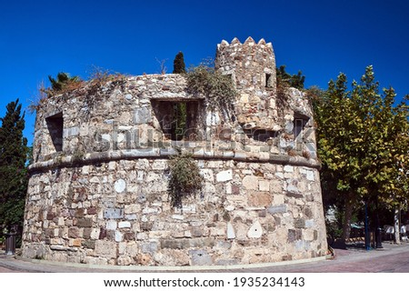 Venetian fortifications, the medieval fortress city of Kos in Greece  Photo stock ©