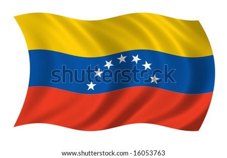 Venezuela Flag (more flags in my portfolio)