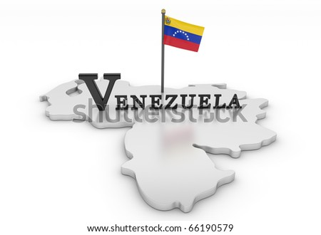 Venezuela Tribute/Digitally rendered scene