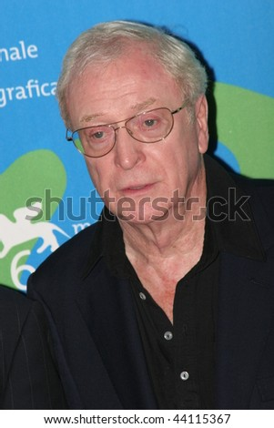 VENICE - AUGUST 30:Actor Michael Caine attends the Sleuth photocall during Day 2 of the 64th Annual Venice Film Festival on August 30, 2007 in Venice, Italy