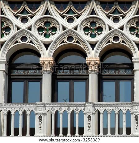 Venice: Baroque Window