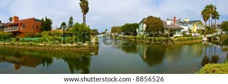 Venice beach canals, california