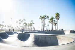 Venice beach skatepark, Los angeles