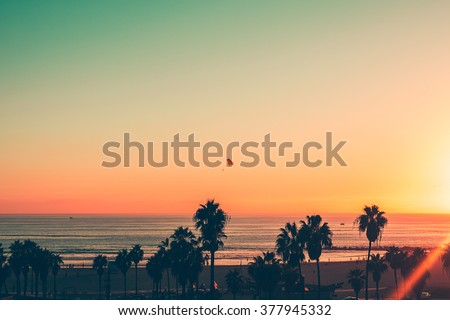 Venice Beach Sunset - LA
