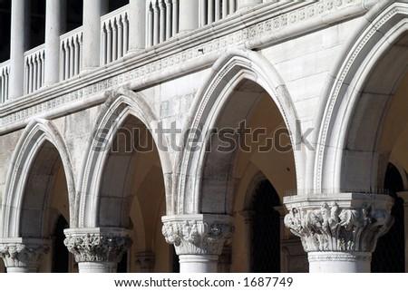 Venice. Campanile di San Marco. Palazzo Ducale