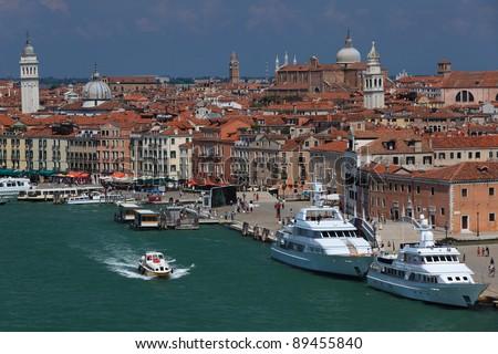 Venice cityscape, Italy - stock photo